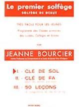 Bourcier Jeanne - Premier Solfège Vol.1 - Clé De Sol