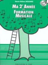 Siciliano Marie-hélène - Ma 2ème Année De Formation Musicale