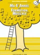 Siciliano Marie-hélène - Ma 4ème Année De Formation Musicale