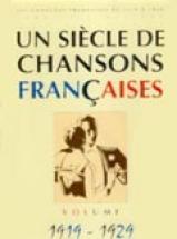 Siècle Chansons Françaises 1919-1929 - Pvg