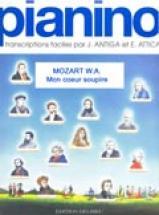 Mozart W.a. - Mon Coeur Soupire - Pianino 42 - Piano