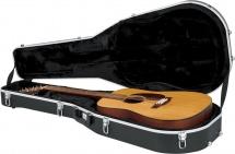 Gator Etui  Pour Guitares Folk 12 Cordes - Abs Noir