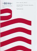 Hines Earl Fatha - Selected Piano Solos 1928-1941