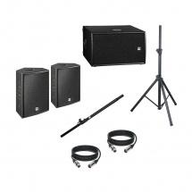 Hk Audio Pack Pro10xd + Pro210sa + Pieds + Cables
