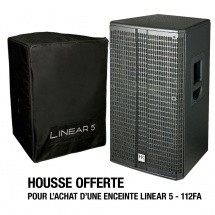 Hk Audio L5-112fa Serie Linear 12/1 1000wrms + Housse Offerte