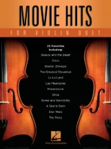 Movie Hits For Violin Duet - 2 Violons
