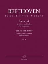 Sonate Pour Piano Forte Et Violon Op. 24