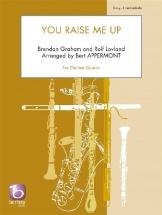 B. Graham Et R. Lovland - You Raise Me Up - Quatuor De Clarinettes