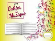 Cahier De Musique 4 Portees