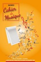 Cahier De Musique Bloc