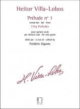Heitor Villa-Lobos : Prelude N° 1 - Extrait Des Cinq Preludes