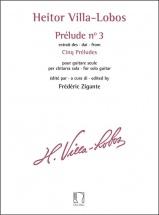 Heitor Villa-Lobos : Prelude N° 3 - Extrait Des Cinq Preludes