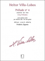 Heitor Villa-Lobos : Prelude N° 4 - Extrait Des Cinq Preludes