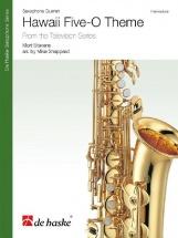 Mort Stevens - Hawaii Five-o Theme - Quatuor De Saxophones