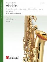 Alan Menken - Aladdin - Quatuor De Saxophones