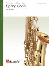 Jan De Haan - Spring Song - Saxophone Alto Et Piano