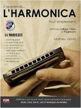 Mathieu Vernet - J'apprends... L'harmonica... Tout Simplement