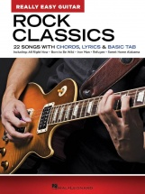 Rock Classics - Really Easy Guitar Series - Guitare Facile