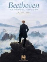 Ludwig Van Beethoven - Beethoven For Beginning Piano Solo - Piano