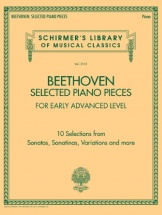 Ludwig Van Beethoven - Selected Piano Pieces: Early Advanced - Piano