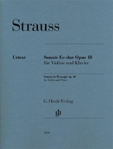 Richard Strauss - Sonata In E Flat Major Op. 18 - Violon Et Piano