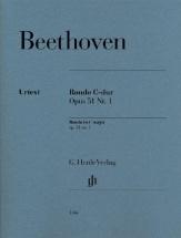 Ludwig Van Beethoven - Rondo In C Major Op. 51 No. 1 - Piano