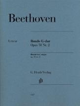 Ludwig Van Beethoven - Rondo In G Major Op. 51 No. 2 - Piano