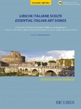 Liriche Italiane Scelte - Voce Acuta - Chant Et Piano