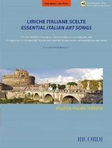 Liriche Italiane Scelte - Voce Grave - Chant Et Piano
