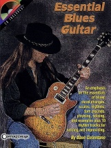 Dave Celentano Essential Blues Guitar + Cd - Guitar