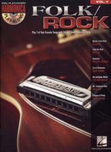 Harmonica Play Along Vol.4 - Folk/rock + Cd