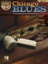Harmonica Play Along Volume 9 - Chicago Blues Harmonica + Cd - Harmonica