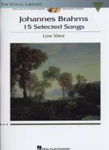Brahms - 15 Selected Songs + 2 Cd - Piano, Chant