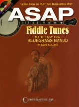 Asap Fiddle Tunes Made Easy For Bluegrass Banjo Tab + Cd - Banjo