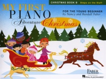 My First Piano Adventure Christmas Book B Steps On The Staff - Piano Solo