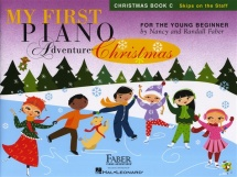 My First Piano Adventure Christmas Book C Skips On The Staff - Piano Solo