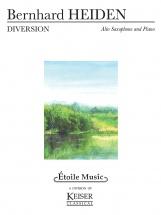 Eiden Bernhard - Diversion - Saxophone Alto & Piano
