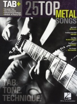 25 Top Metal Songs Tab Tone Technique Rec Vers - Guitar Tab