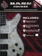 Rock House House Of Blues Bass Course B+ Cd - Bass Guitar