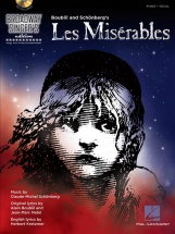 Les Miserables Broadway Singers Edition Piano Vocal + Cd - Voice