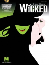 Schwartz - Wicked Broadway Singers Edition Vocal Piano + Cd - Voice