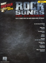 Easy Guitar Play Along Volume 9 Rock Songs For Beginners + Cd - Rock