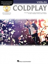 Instrumental Play Along - Coldplay + Cd - Violin