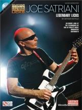 Joe Satriani - Legendary Licks - Guitare