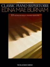 Burnam Edna Mae - Classic Piano Repertoire Intermediate To Advanced - Piano Solo
