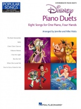 Disney Piano Duets Eight Songs For One Piano Four Hands - Piano Duet
