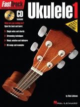 Fast Track Ukulele Method Book 1 + Cd - Ukulele