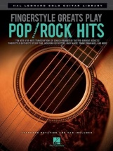 Fingerstyle Greats Play Pop Rock Hits Solo Gutar Library - Guitar