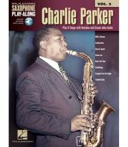 Saxophone Play-along Vol.5 - Charlie Parker + Online Audio