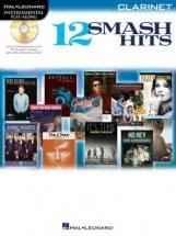Instrumental Play Along - 12 Smash Hits + Cd - Clarinet